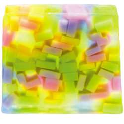 Confetti Showers Soap Slice