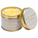 White Amber & Musk Tinned Candle