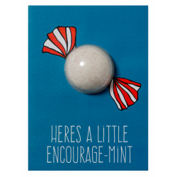 Encourage-mint Blaster Card
