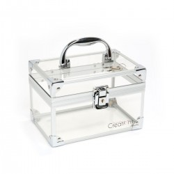 SMALL CLEAR BEAUTY CASE