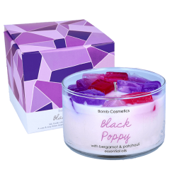 Black Poppy Jelly Candle