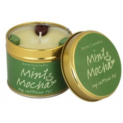 Mint Mocha Tinned Candle