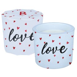 Love Wrapped Candle