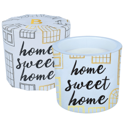 Home Sweet Home Wrapped Candle