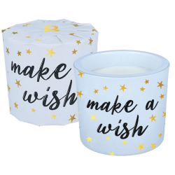 Make a Wish Wrapped Candle