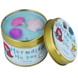 Mermaid My Day Candle