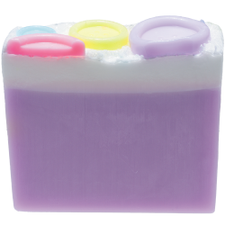 Button Babe Soap Slice