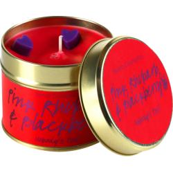 Pink Rhubarb & Blackberry Candle