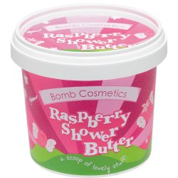 Raspberry Blower Cleansing Shower Butter